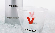 Vodka, pack shot